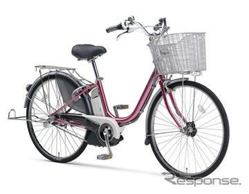 PAS de Yamaha serie híbrido eléctrico bicicleta adecuado para nuevas leyes relativas asistidas y modificación para el desarrollo, el 5 de febrero de 2009 versión 3 modelos comenzando con todos los modelos de 8 secuencialmente para lanzar...