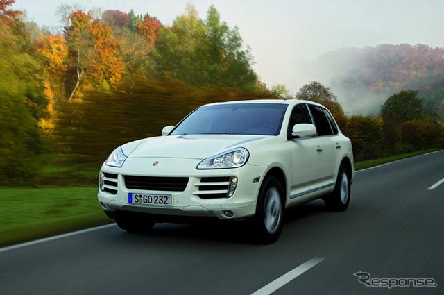 Porsche Cayenne diesel specifications