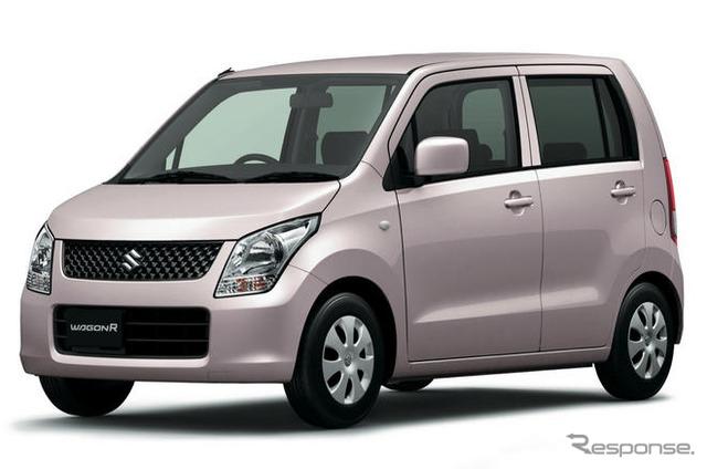 """Vagón de 16876 unidades de Suzuki R """"fue un top ranking segun los vehículos mini Japón que Asociación anunció también conocido como nombre coche mini de enero otra venta de coches nuevos rompiendo"""