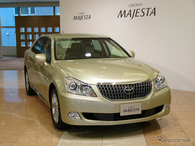 Toyota Crown majesta H1N1 (announced 3 / 26)
