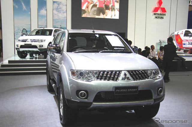 บางกอกมอเตอร์แสดง 09, Mitsubishi Pajero sport