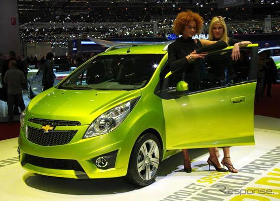 Chevrolet spark (09 Geneva Motor Show)