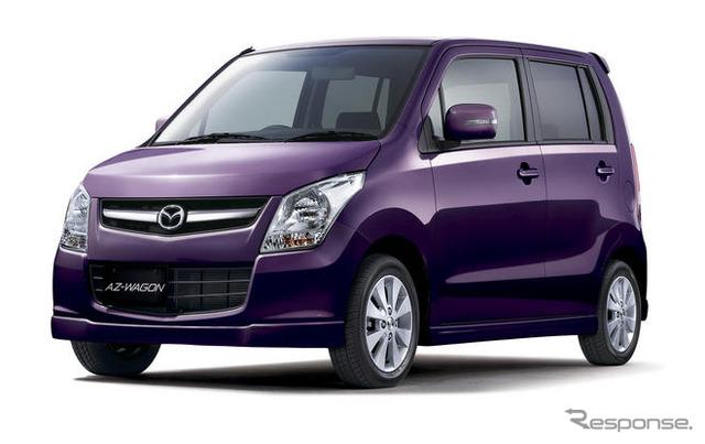 Vehículos especiales de edición Mazda AZ-Wagon