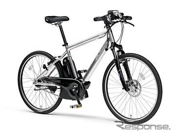 """Bicicletas de motoras, con ayuda de motor de Yamaha sobre modificación del estatuto a los nuevos criterios para el nuevo producto """"llave de PAS - L' liberación de julio 1"""