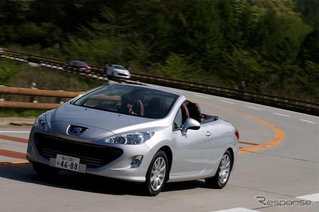 للحصول على hatchback رياضي مع أساس مشترك ل 308 في بيجو CC ' تعليق لكن زينت صور التوليف الخاص: بيجو 308 CC