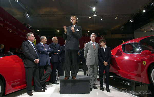 Montezemolo President announced the Enzo Ferrari ( platform )