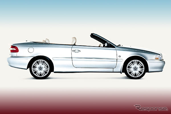 The Volvo C70 cabriolet' evolve! To improve fuel efficiency and power-up is the price...