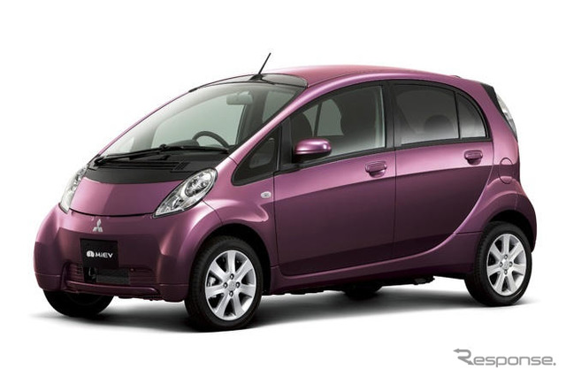 I-Miev electric car