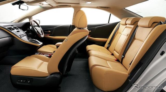 [Lexus HS250h presentation] intelligent package and aerodynamic shape
