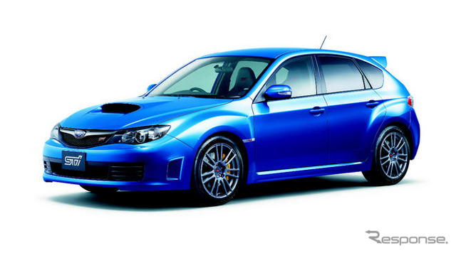 Impreza WRX STI spec C ( 18-inch tires specification car ) Becoming a 1725 kg gross vehicle weight