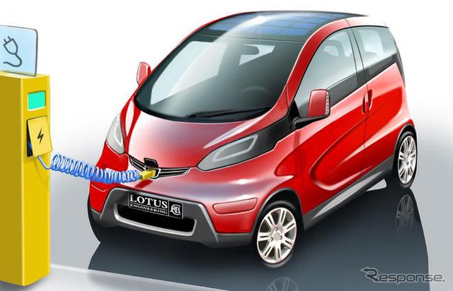 Lotus EV concept