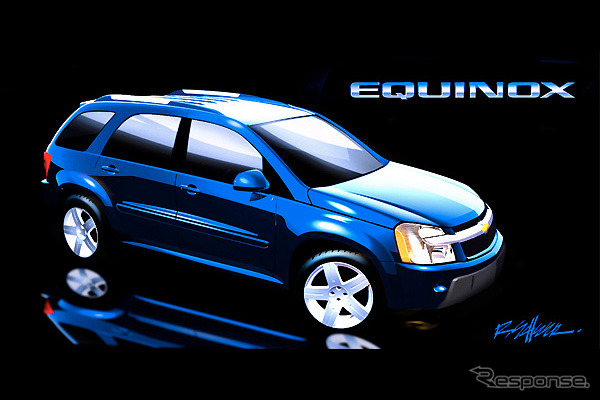 And the Chevrolet Equinox-photo: GM/Wieck