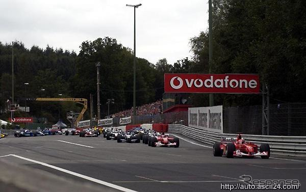 2002, GP Belgium, Census of Ferrari's leading