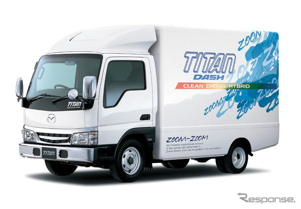 Titan dash clean diesel hybrid