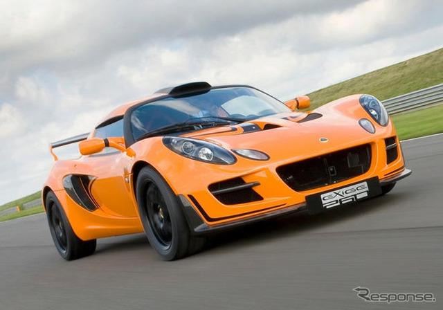 Lotus exige Cup 260 2010 models
