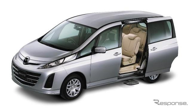 Mazda biante auto step models