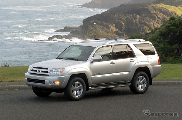 4 Runner, released in the American market, Japan name: Hilux surf