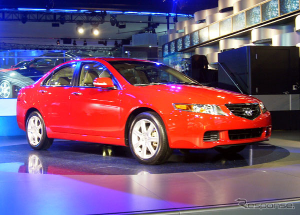 Acura TSX, Honda to launch in North America 