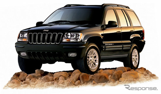 And the Grand Cherokee limited V8