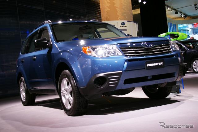 แบบจำลอง Subaru Forester 2010