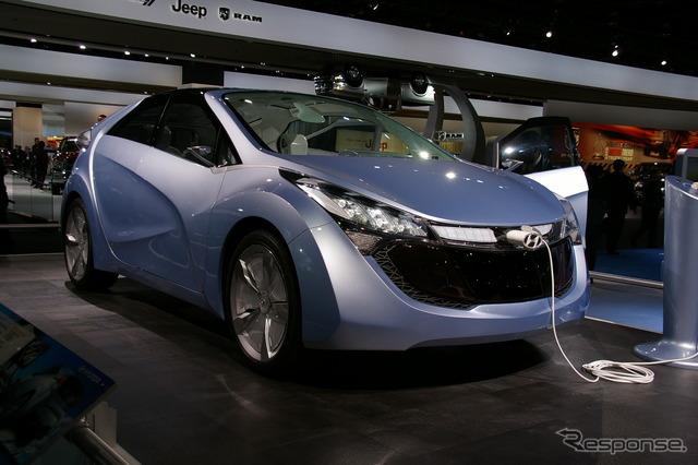Hyundai ブルーウィルแนวความคิด