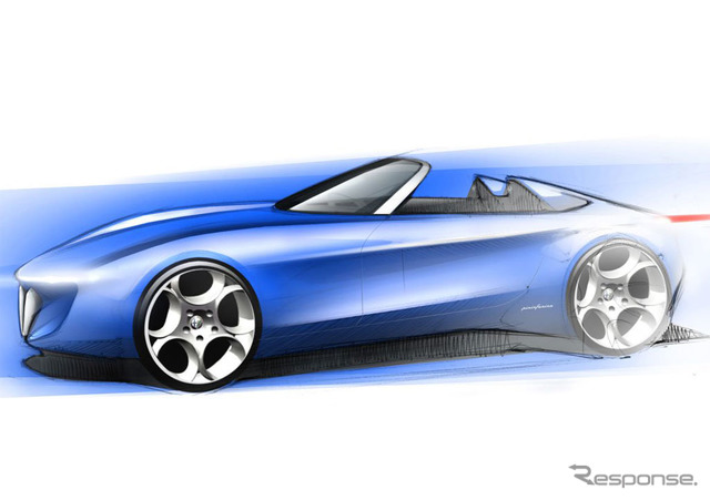 Pininfarina spider concept Car names are yet to be announced