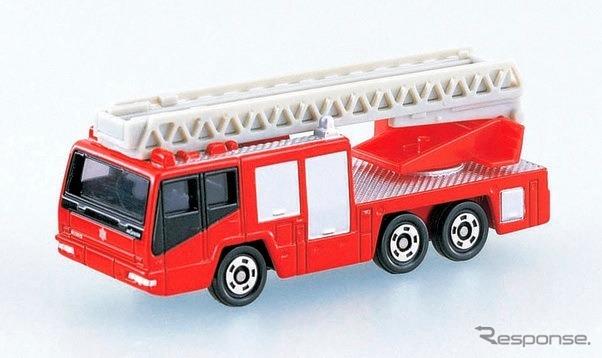 Hino ladder fire truck