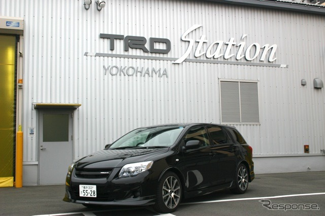 "Corolla fielder "" GT "" TRD Turbo"