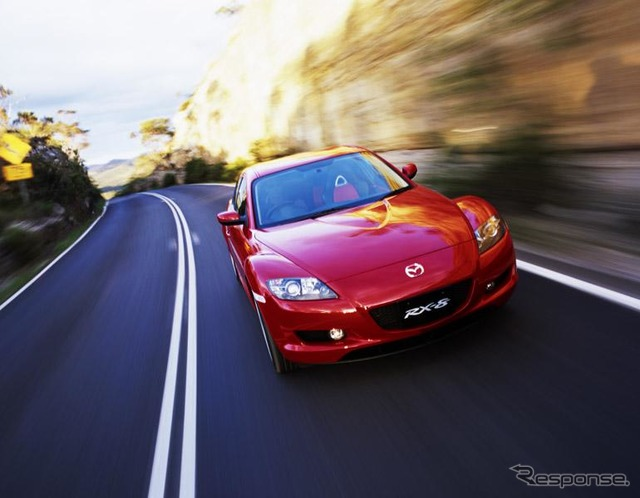 [Mazda's RX-8' photo collection] see Mazda spirit