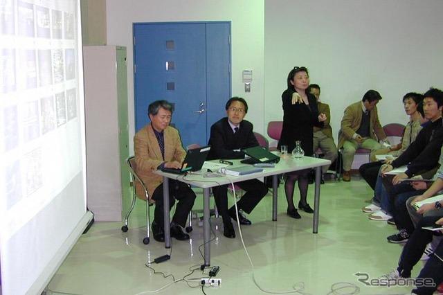 Central's charismatic designer Masato senior researcher Nakano, Honda