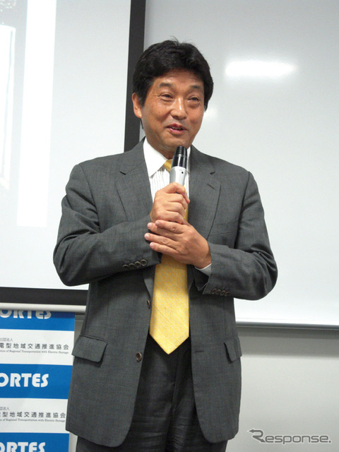Kenichi Kawamura, regional transportation energy type promotion Association Chairman Professor, Hiroshima University of Economics