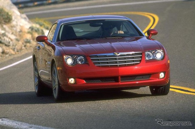 Chrysler Crossfire misappropriated much of the design from the Mercedes E-class