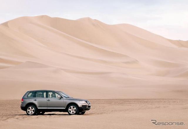 【VW『トゥアレグ』写真蔵】SUVの真骨頂!