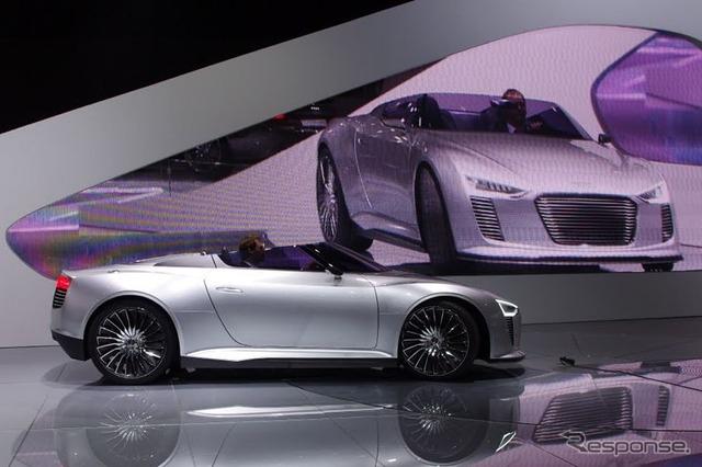 Audi e トロンスパイダー