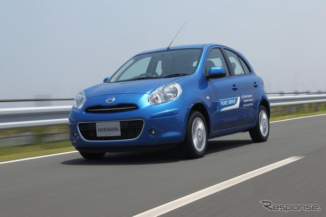 รถยนต์ซูเปอร์ fuel-efficient มีนาคมนิสสัน
