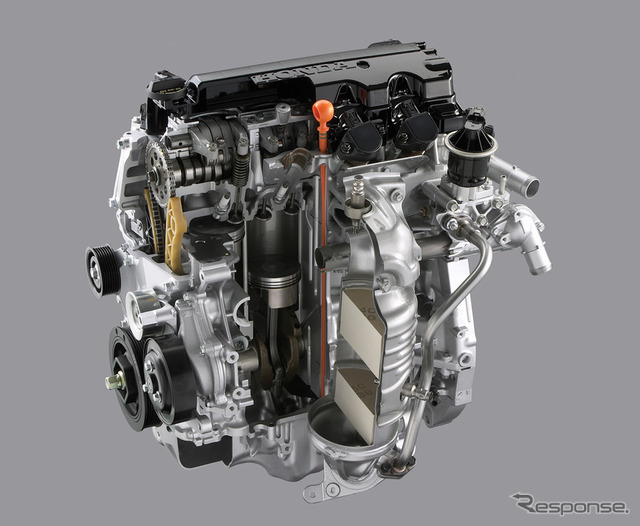 Be equipped with Honda Civic 1.8 liter VTEC engine