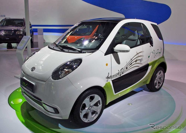 シャンファンォート 小贵族电动汽车高清图片