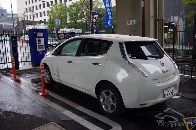Started EV CarSharing in Tokyo 5 To deploy a Nissan leaf in Roppongi parking