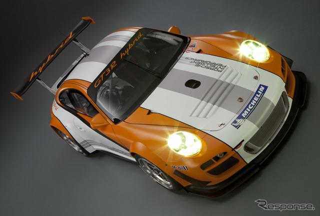 保时捷 911 混合赛车的演变 高清图片
