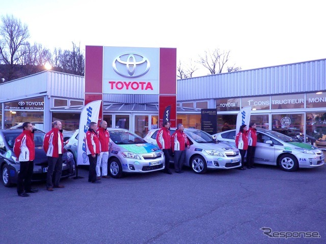 TEAM MECA SPORT PASSION with four hybrid cars