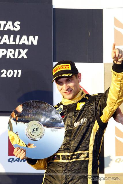 Lotus-Renault GP Vitaly Petrov