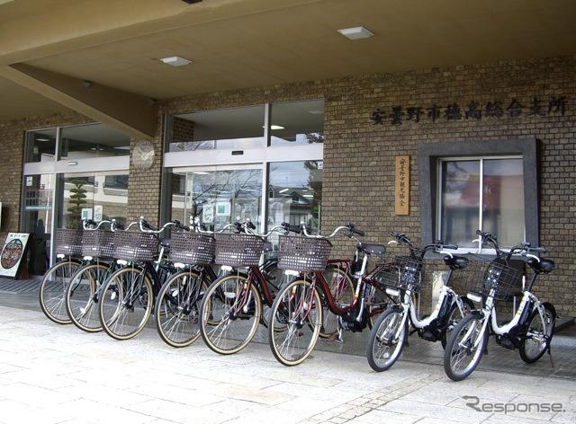 安曇野市に納車した電動アシスト自転車
