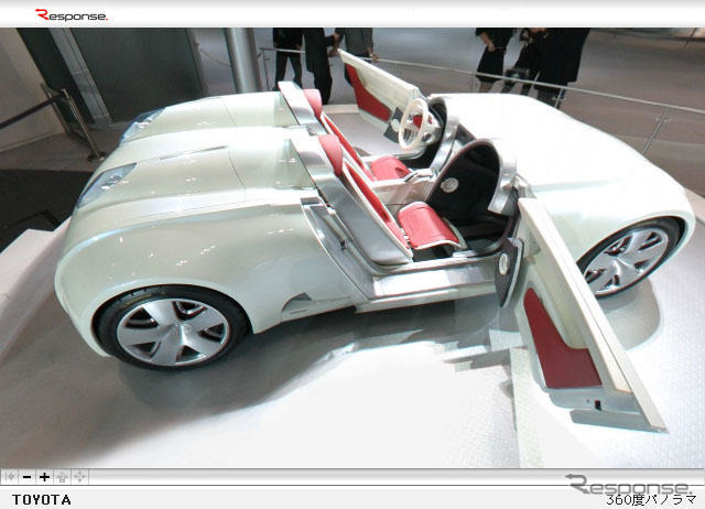 [The virtual tour 2003 Tokyo Motor Show] Anata PC turn show venue!