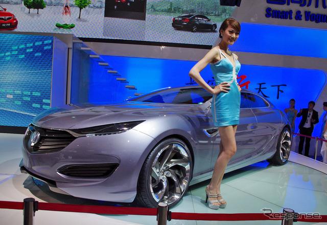 Great Wall motor SENSE (Shanghai motor show 11)