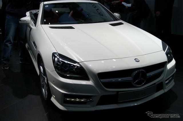 Mercedes-Benz SLK350 (Shanghai motor show 11)