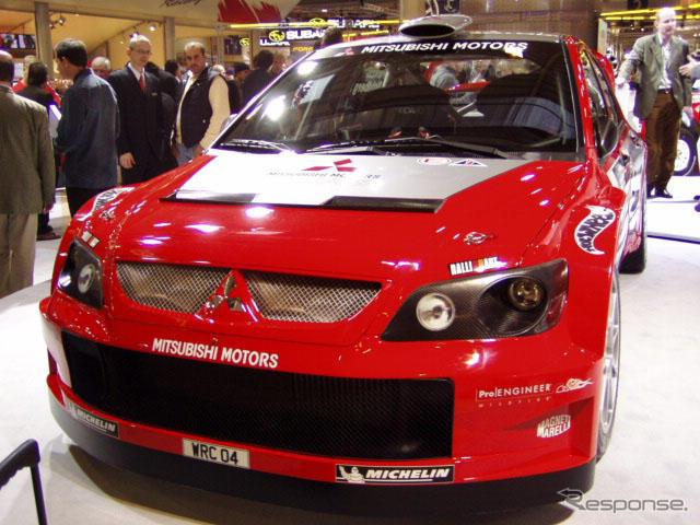 [Mitsubishi WRC beat 'Lancer' WR Kerr, unveiling---Essen