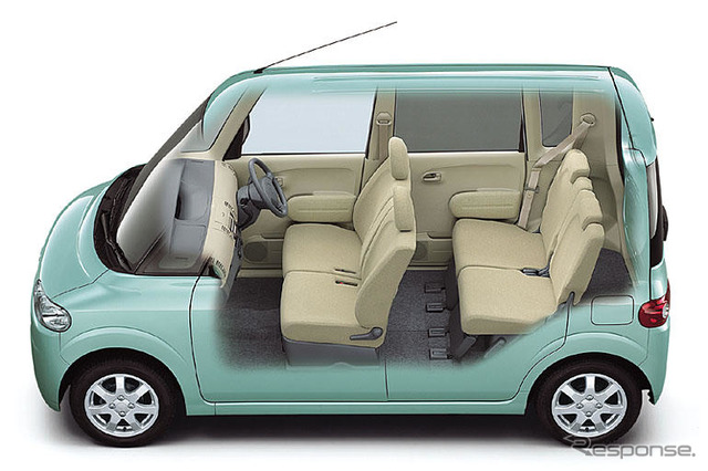 Family rearing in Interior, including seats often move Evaluate the big cabin of tanto?