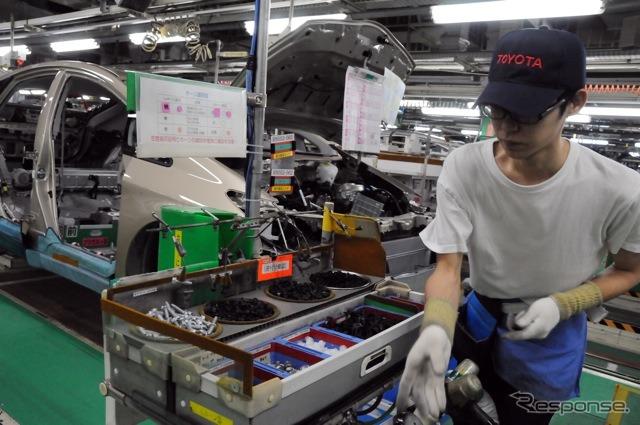 Toyota Tsutsumi plant