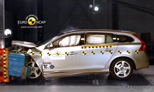 [Euro NCAP] Volvo V60 is highest rated five star