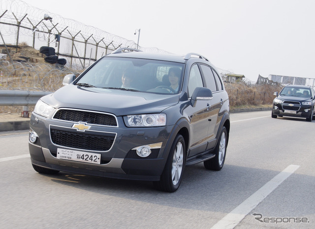 Chevrolet キャプティバ ( photo specifications Korea )
